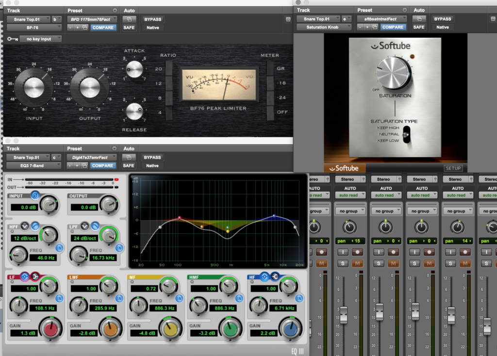 Snare Top Channel Plugin Shot
