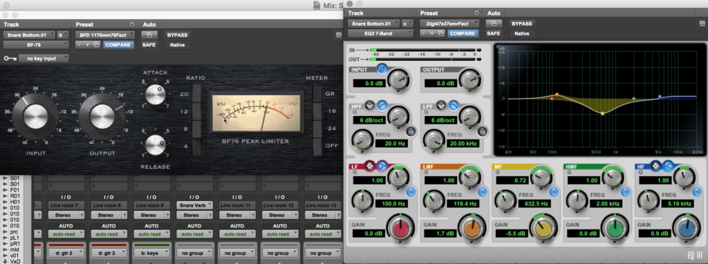 Snare Bottom Plugin Shot